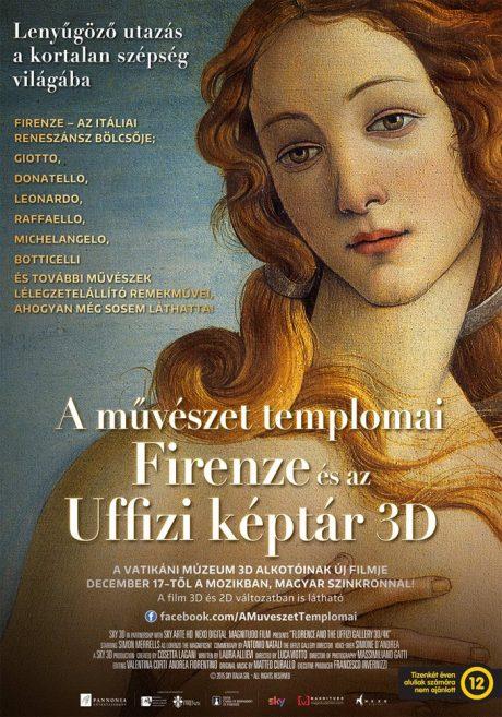 Firenze-Uffizi-3D-plakat